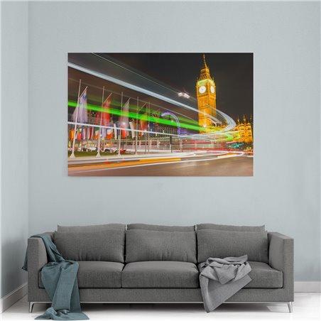 Londra Trafik Işıkları Kanvas Tablo