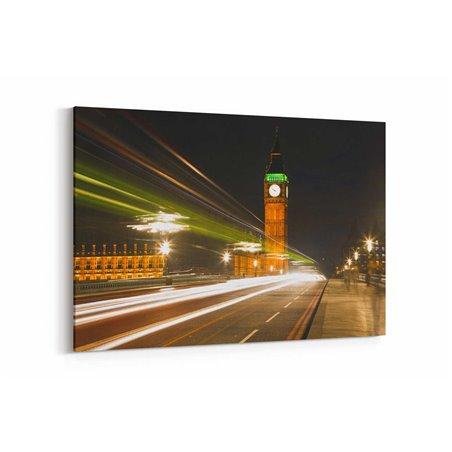 Londra Hızlı Trafik Işıkları Kanvas Tablo