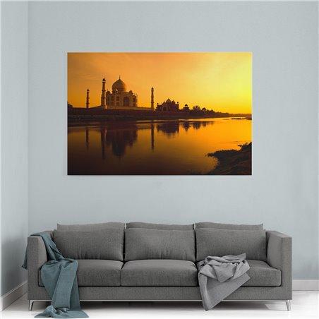Gün Işığı Taj Mahal Kanvas Tablo