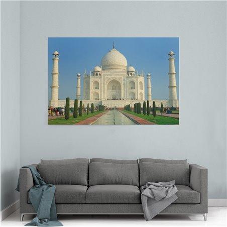 Taj Mahal Yapıtı Kanvas Tablo