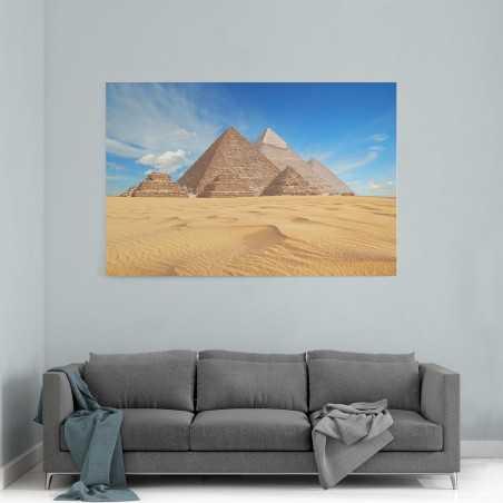 Piramitler Mısır Görseli Kanvas Tablo