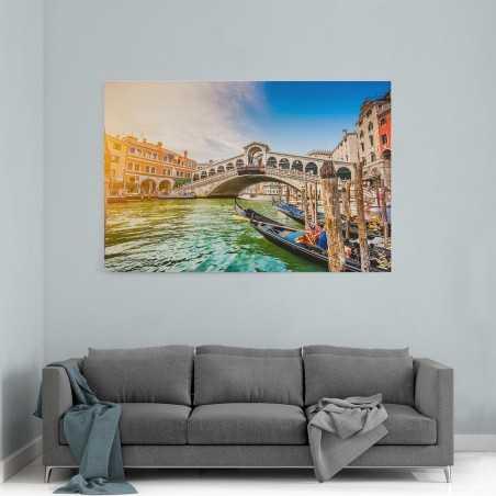 Venedik Güneş Yansıması Kanvas Tablo
