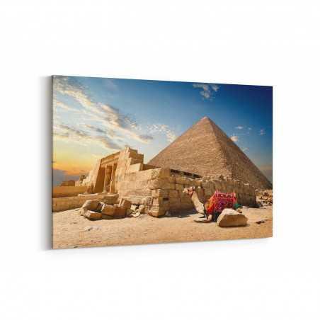 Piramit Mısır Kanvas Tablo