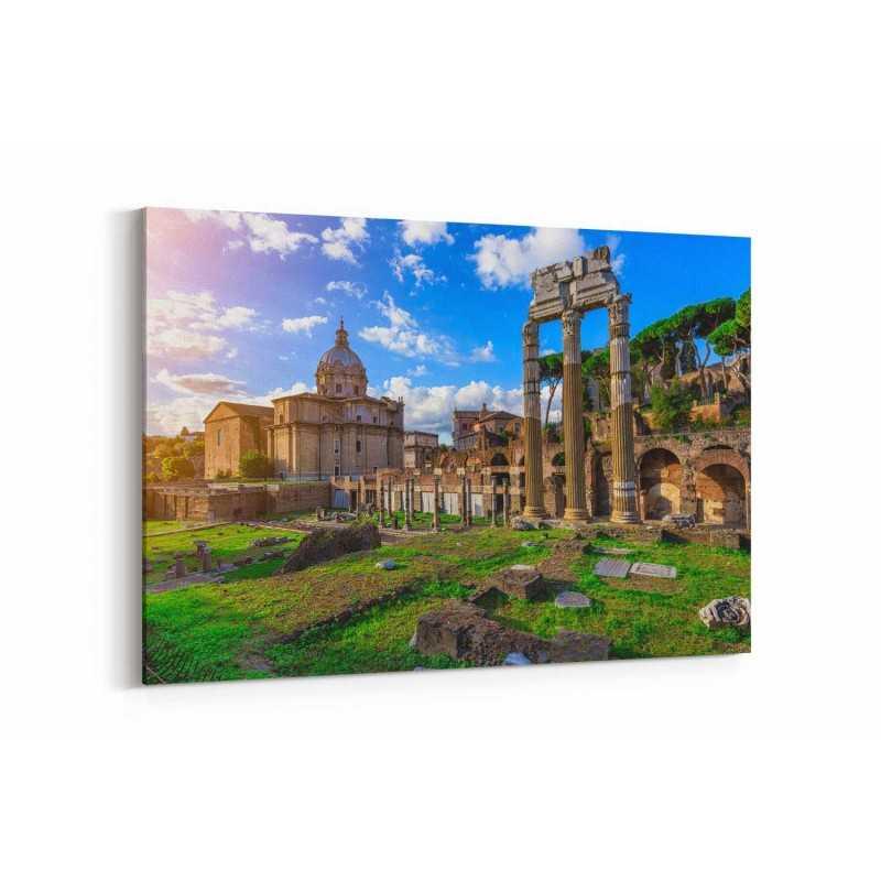 Roma Kalıntıları Kanvas Tablo