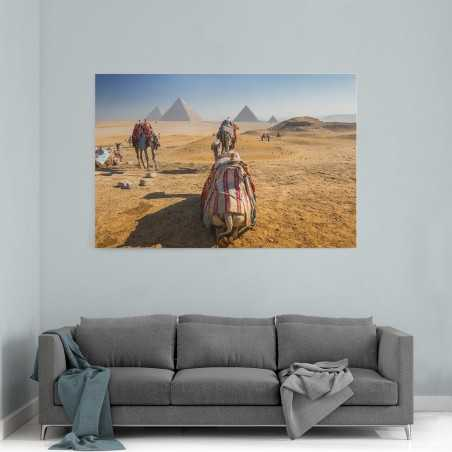 Develer Mısır Kanvas Tablo