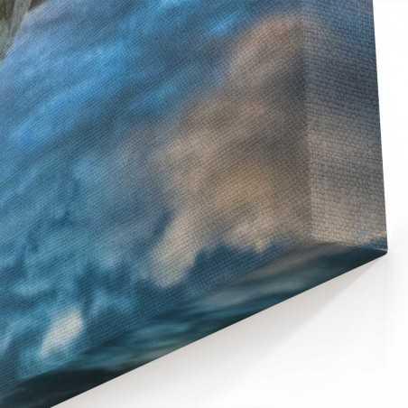 Yeni Zellanda Yansıma Kanvas Tablo