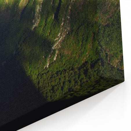 Yeni Zellanda Dağları Kanvas Tablo