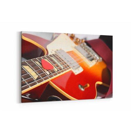 Gitar  Kanvas Tablosu
