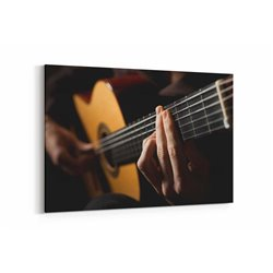 Gitarist Kanvas Tablosu