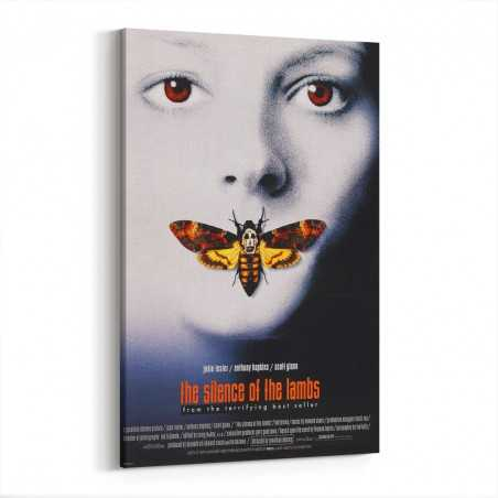 The Silence Of The Lambs Kanvas Tablo