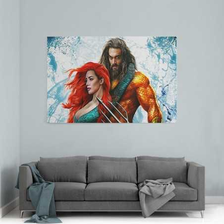 Aquaman Filmi Kanvas Tablo