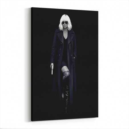 Atomic Blonde Kanvas Tablo