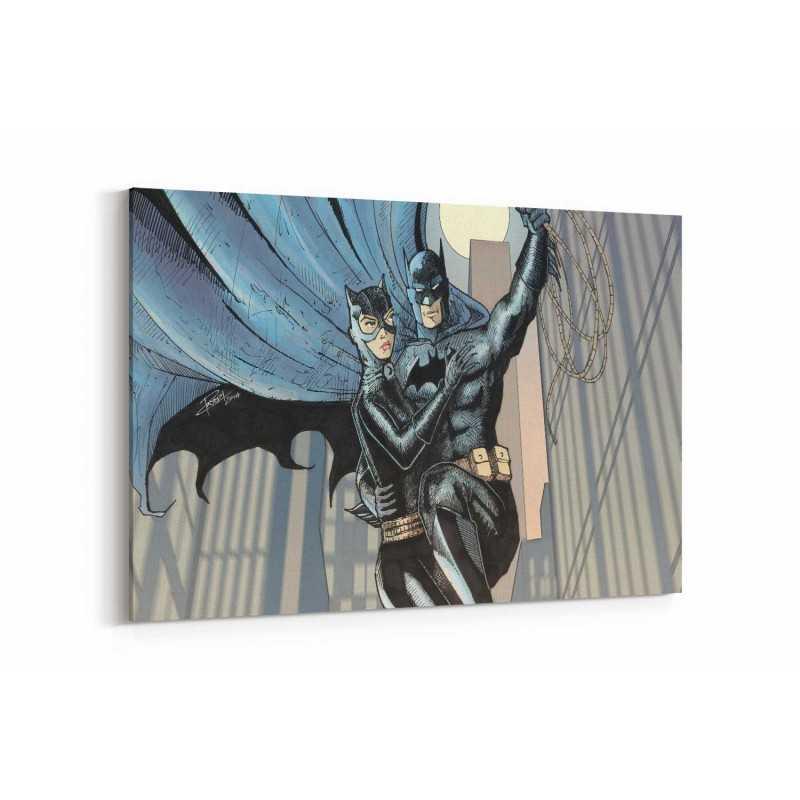 Batman Çizgi Roman Kanvas Tablo