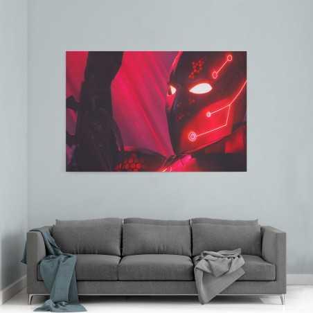Kırmızı Batman Beyond Kanvas Tablo