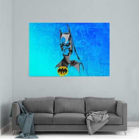 Batman Kristal Kanvas Tablo