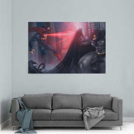 Batman vs Superman Kanvas Tablo