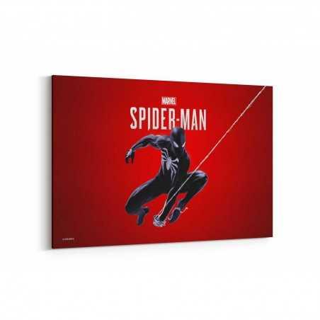 Black Spider Man Kanvas Tablo