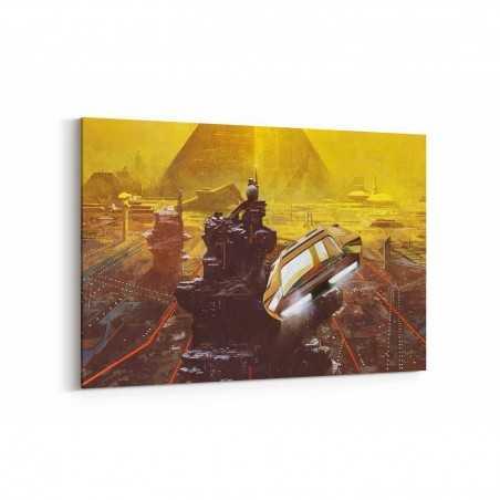 Blade Runner Kanvas Tablo