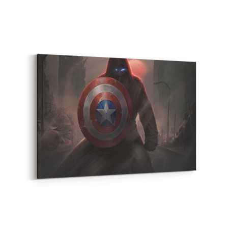 Kaptan Amerika Kalkanı Kanvas Tablo