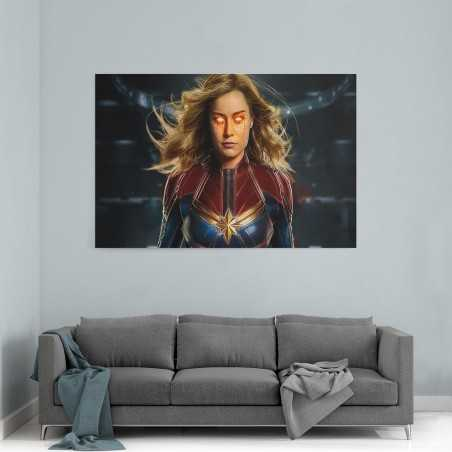 Kaptan Marvel Kanvas Tablo