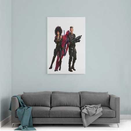 Deadpool 2 Film Görseli Kanvas Tablo