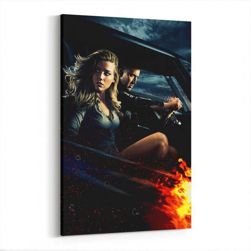 Drive Angry Kanvas Tablo