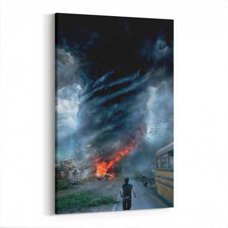 Fırtınanın İçinde Kanvas Tablo
