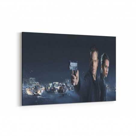 Jason Bourn Film Posteri Kanvas Tablo