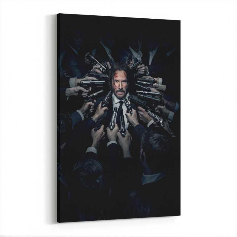 John Wick Film Afişi Kanvas Tablo