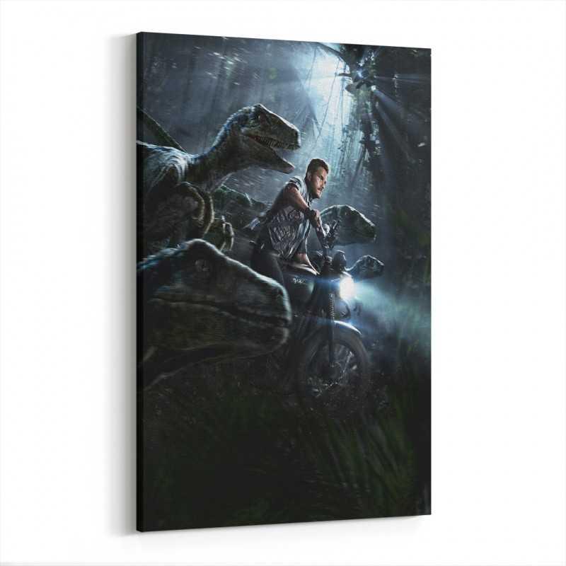 Jurassic World Kanvas Tablo