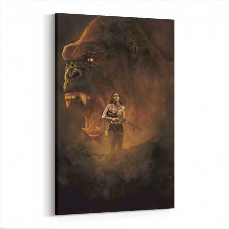 Kong Skull Island Film Afişi Kanvas Tablo