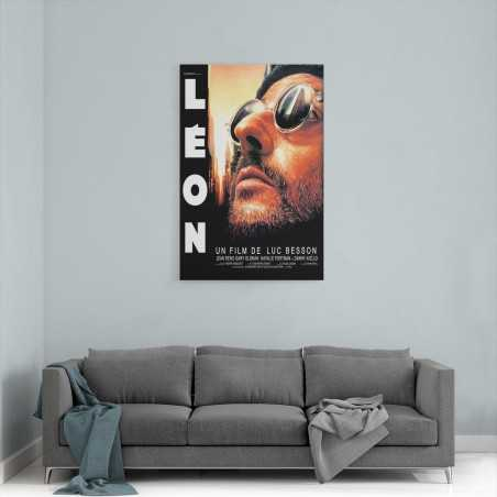 Leon Film Afişi Kanvas Tablo