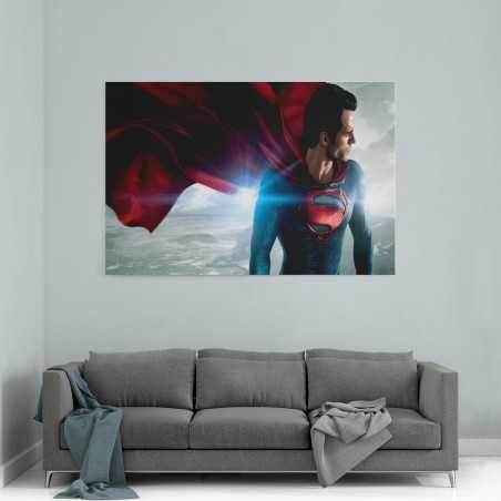 Süperman Çelik Adam Kanvas Tablo