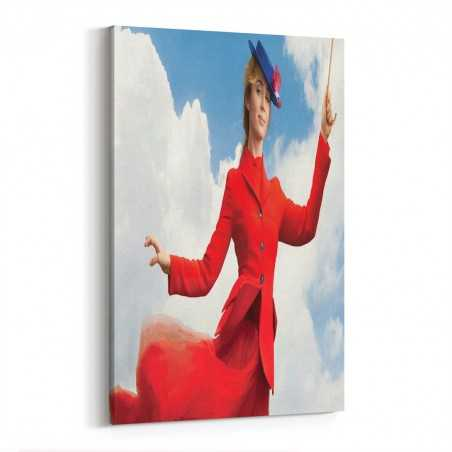 Mary Poppins Kanvas Tablo