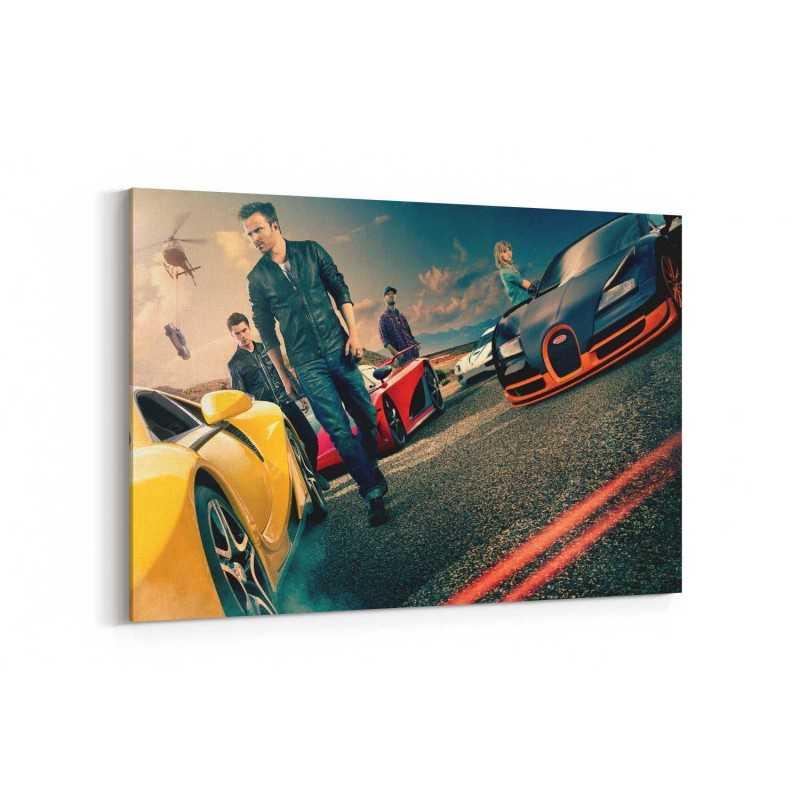 Need For Speed Film Afişi Kanvas Tablo