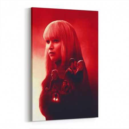Red Sparrow Kanvas Tablo