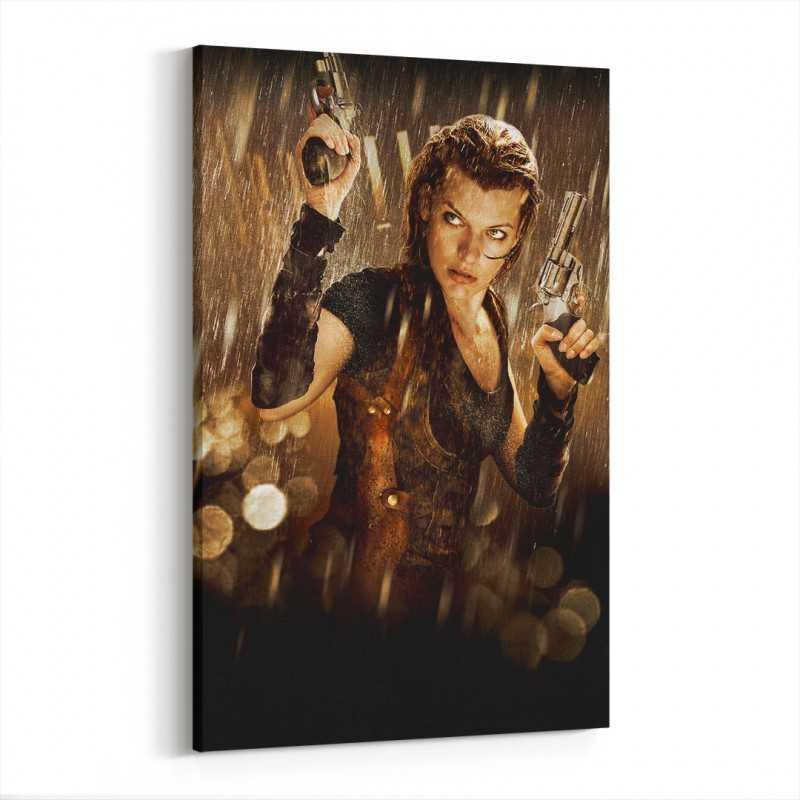 Resident Evil Kanvas Tablo