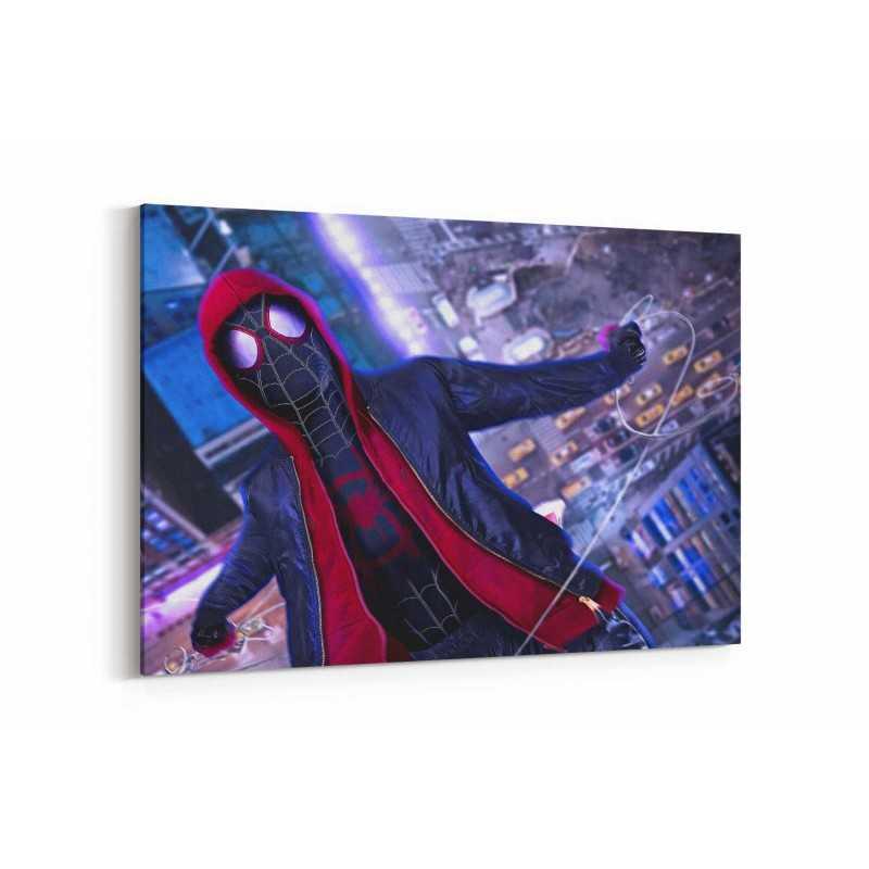 Örümcek Adam Film Afişi Kanvas Tablo