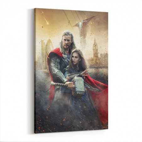 Thor Karanlık Dünya Kanvas Tablo