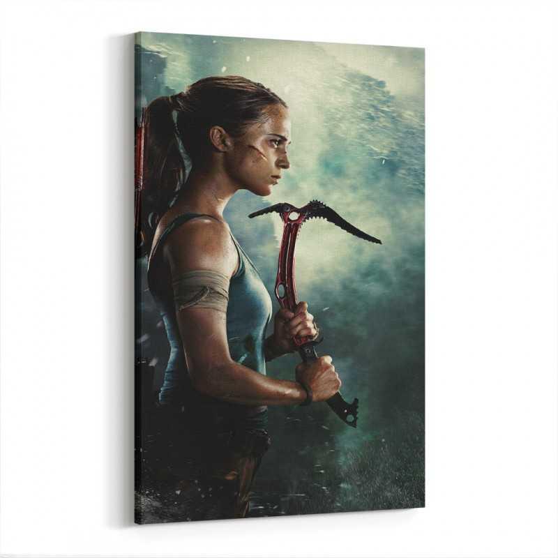 Tomb Raider Kanvas Tablo