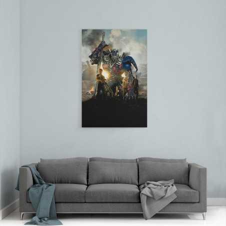 Transformers Film Afişi Kanvas Tablo