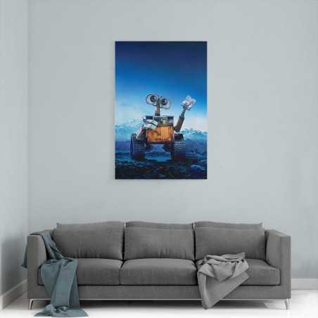 WALL-E Film Afişi Kanvas Tablo