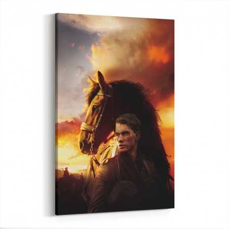 Savaş Atı Kanvas Tablo