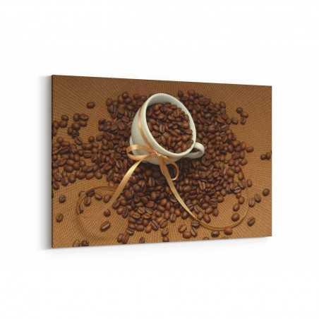 Kahve Çekirdeği Kanvas Tablo