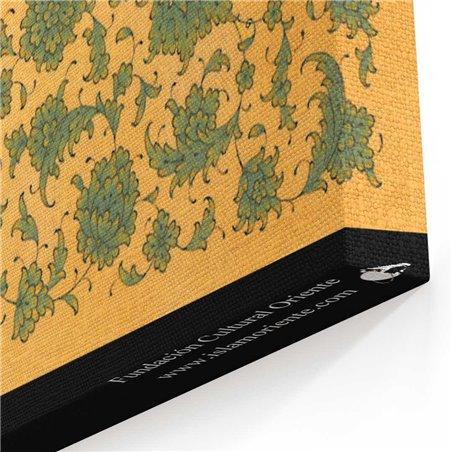 Besmele Kaligrafisi Kanvas Tablosu