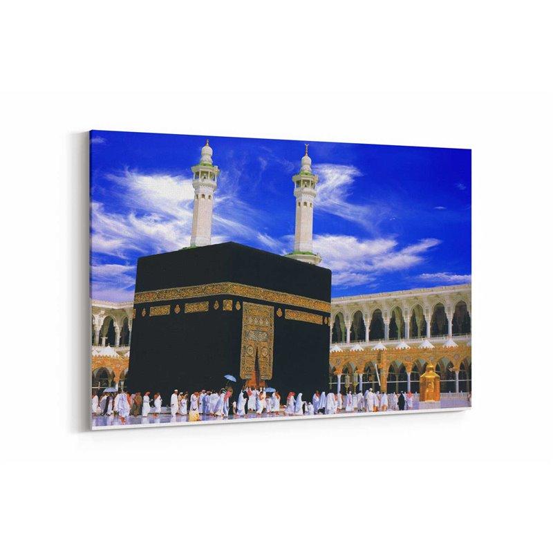 Kabe İslam Kanvas Tablosu