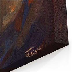 Yağlı Boya Görünümlü Semazen Kanvas Tablosu