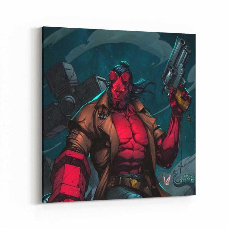 Hellboy Kanvas Tablo