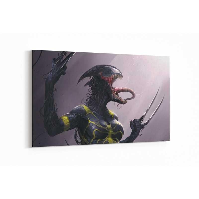 Lady Venom Kanvas Tablo