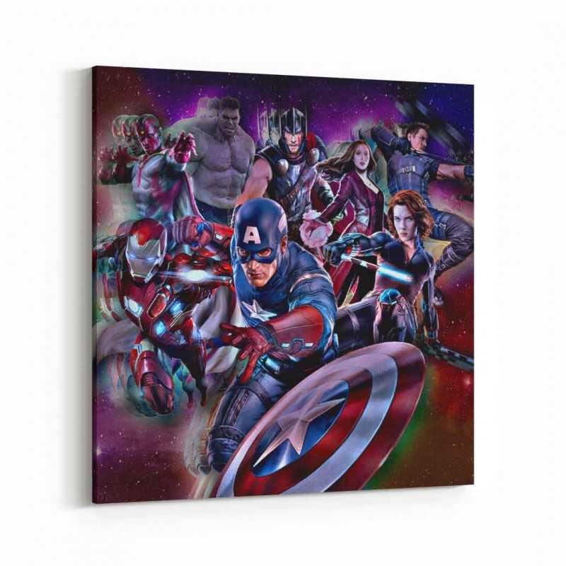 The Avengers Kanvas Tablo